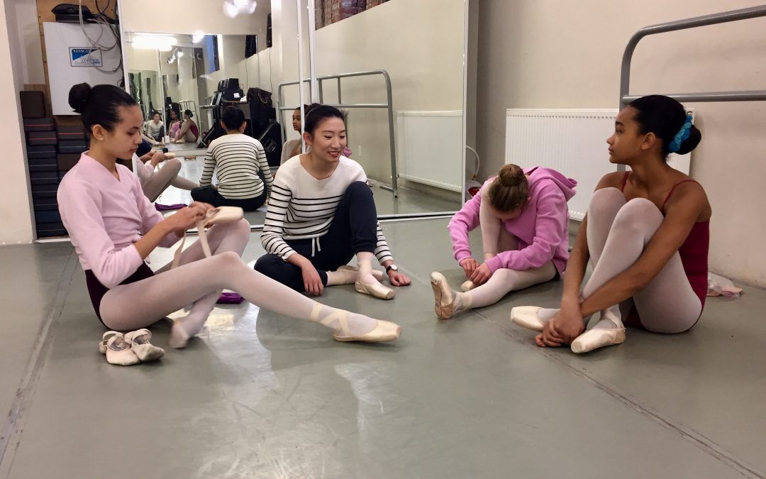 Citadel Dance Program dancers hard at work