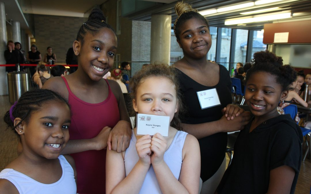 Citadel Dance Program students take leaps at the National Ballet School's open classes