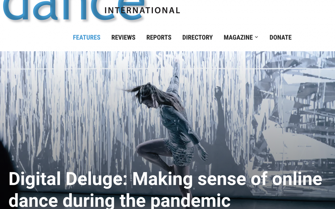 Citadel Online series featured in Dance International